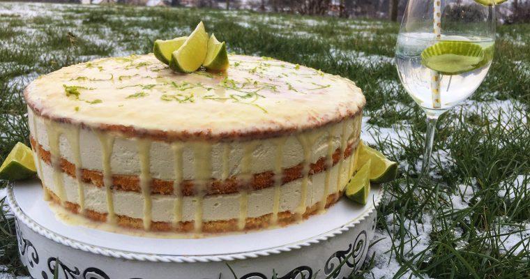 Gin-tonic torta brez glutena