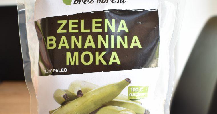 Zelena bananina moka brez glutena