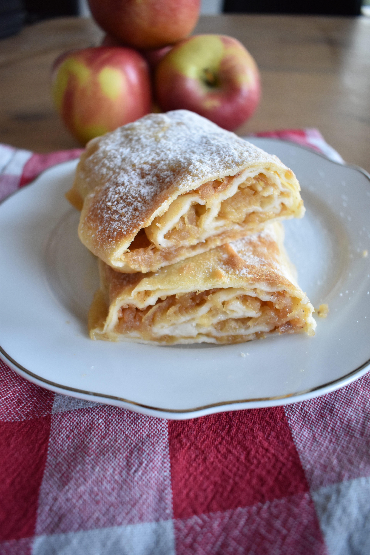 Jabolčni štrudelj brez glutena