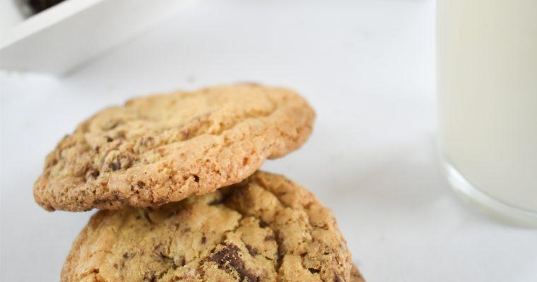 Piškoti brez glutena s koščki čokolade