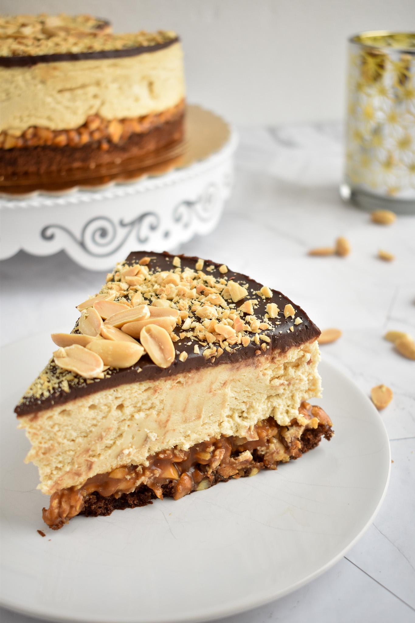 Snickers torta brez glutena