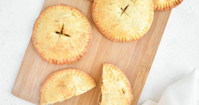 Mini jabolčne pite brez glutena