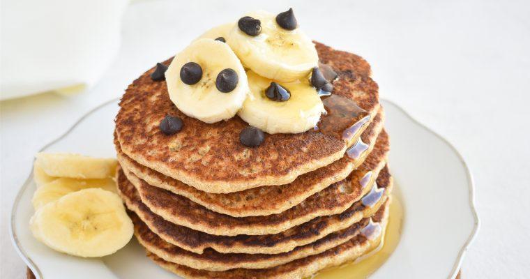 Ovsene bananine palačinke brez glutena